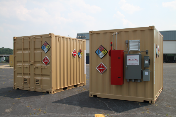 Dropbox Inc Custom Conex Container Modifications