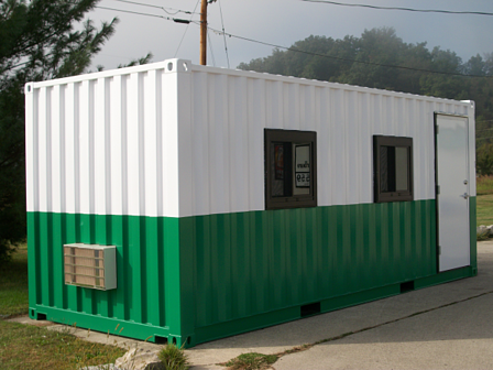 custom dropoffice, shipping container office, iso shipping container office, portable office, modular office