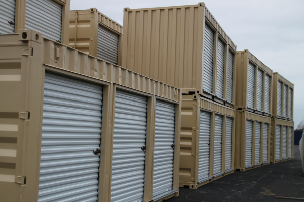 DropBox Inc Builds Shipping Container Modifications for Storage