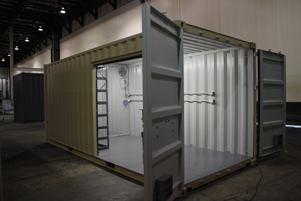 custom container modification,shipping container modification,custom shipping container modification,milvan modification,connex container modification,conex container modification,ISO Shipping container modifications,DropBox Inc,containerized site solutions,custom storage container,shipping container modifications,shipping container modifications company