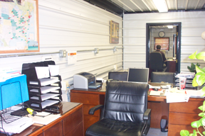 shipping container office, shipping container modification