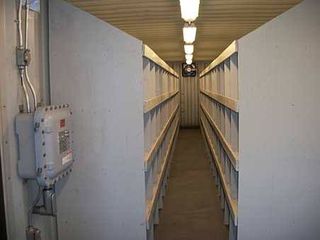 mobile storage container, mobile storage unit, modular iso storage container