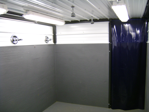 decontamination station, decontamination shower, modular decontamination showers