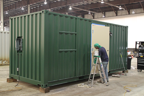 Shipping Container Mods Blog Blast Resistant Iso