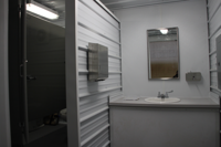 custom shipping container modification, ISO Shipping container modifications, DropBox Inc., containerized restroom