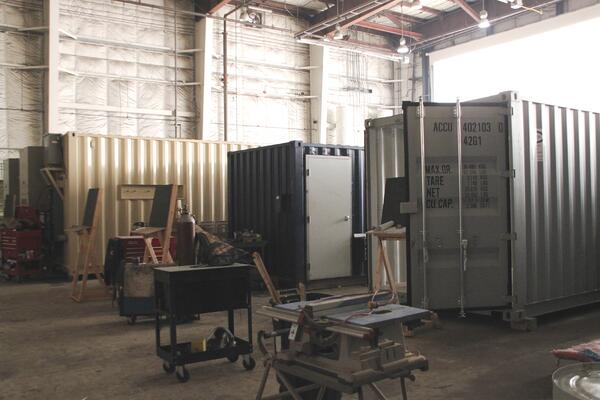 shipping container modification, DropBox Inc, shipping container modifications, shipping container modifications company, milvan modification, connex container modification