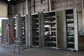custom container modification,shipping container modification,milvan modification,connex container modification,DropBox Inc,containerized office,custom ISO shipping container modification, shipping container modifications