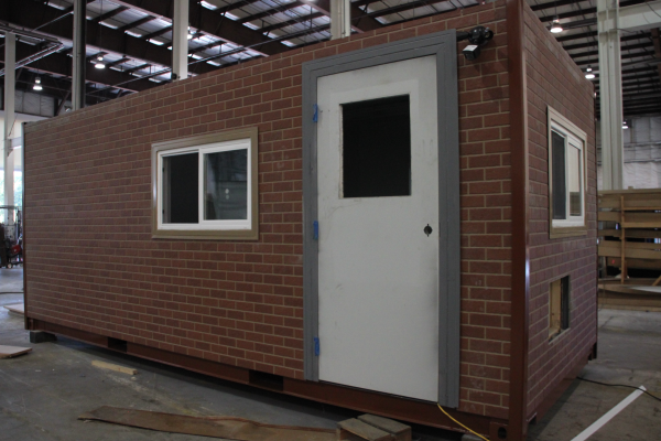 DropBox Inc, shipping container modification, connex container modification, milvan modification, containerized office, custom container modification, custom ISO shipping container modification