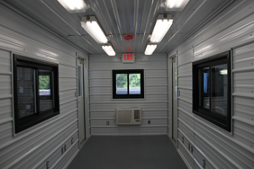 DropOffice, custom shipping container modification, custom ISO shipping container modification, DropBox Inc., shipping container modification, portable restroom trailer, Portable Sanitation