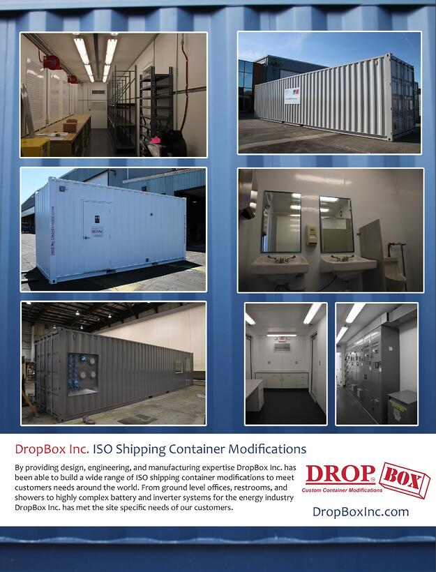 shipping container modification, DropBox Inc, shipping container modifications, shipping container modifications company, conex container modification, custom storage container, shipping container office
