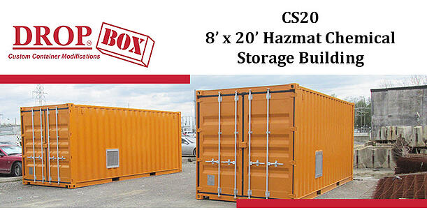 DropBox Inc, hazardous chem storage, containerized chemical storage, portable chem storage, chemical storage, portable chemical storage, hazmat storage, portable hazmat storage, portable hazmat chemical storage, hazmat chemical storage
