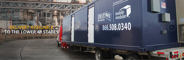 DropBox Inc., Mobile Modular, Blast Resistant Modules, BRM