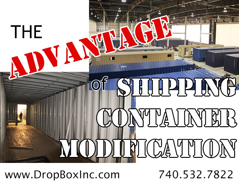 shipping container modification, DropBox Inc, ISO Shipping container, ISO shipping container modification, shipping container modification design, shipping container modification engineering, shipping container modification manufacturing