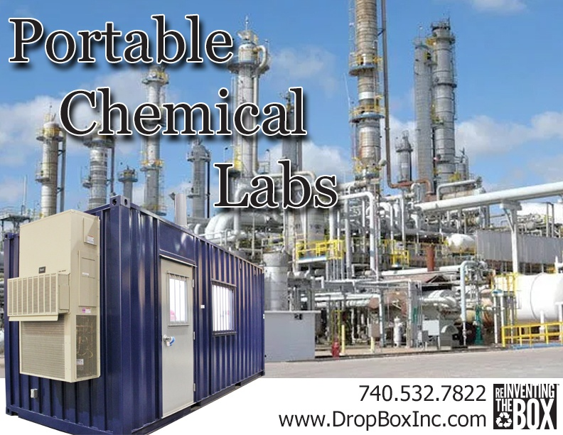 DropBox Inc, portable laboratory, portable chemical lab, containerized lab, portable lab, modular lab, modular laboratory, mobile laboratory