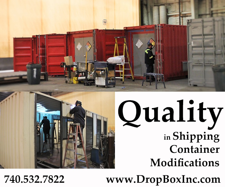 DropBox Inc, engineering shipping container modification, design shipping container modification, shipping container modification company, ISO shipping container modification, custom shipping container modification, ISO Shipping container modifications