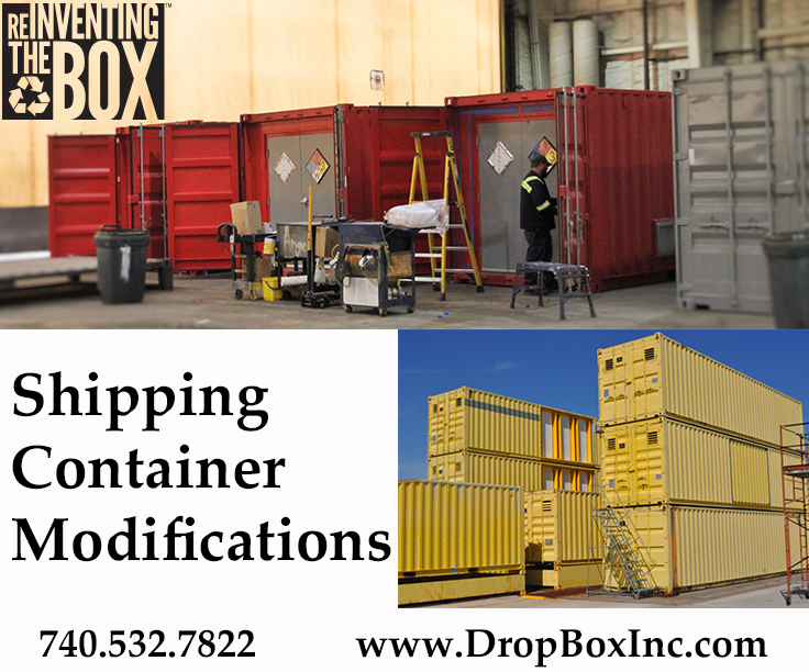 shipping container modification, ISO Shipping container modifications, DropBox Inc, shipping container modifications, shipping container modifications company
