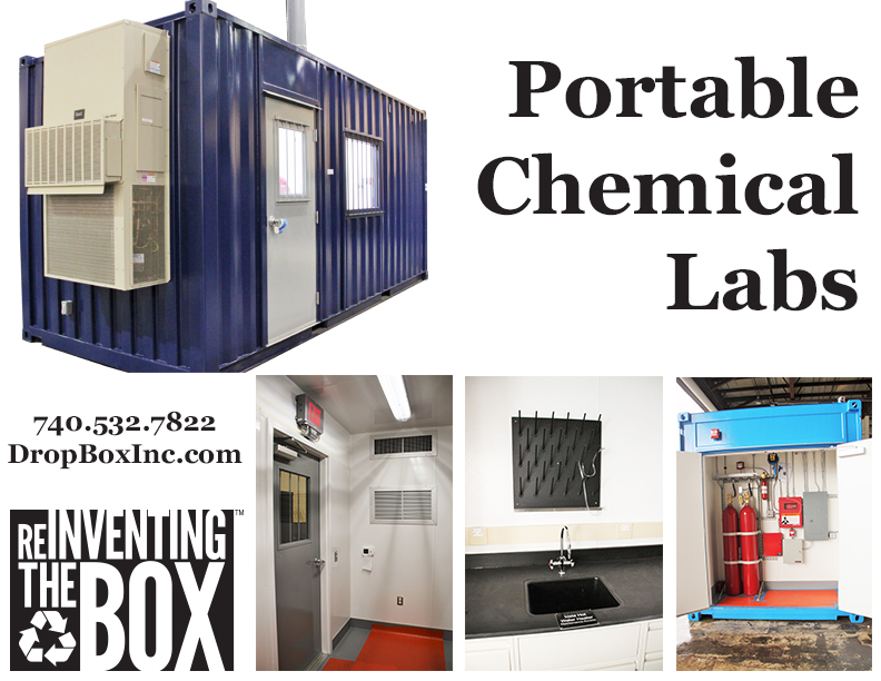 DropBox Inc, portable chemical lab, portable chemical testing, modular chemical lab, modular chemical labs, modular chemical laboratory, portable chemical laboratory