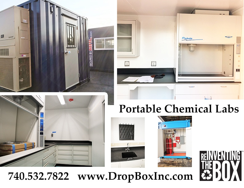 portable chemical lab, containerized lab, modular laboratory, portable laboratory, portable lab, modular lab, modular chemical lab, modular chemical labs, modular chemical laboratory, DropBox Inc