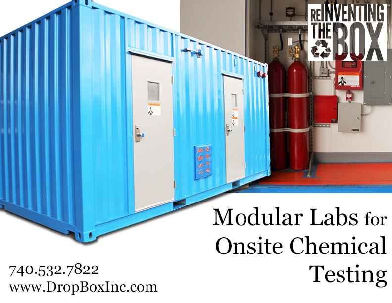 DropBox Inc, portable chem storage, portable laboratory, portable chemical lab, containerized lab, portable lab, modular lab, modular laboratory