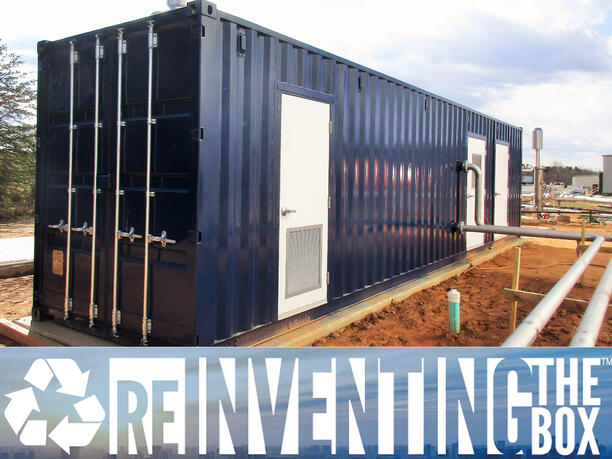 ISO Shipping container modifications, DropBox Inc, Shipping container, custom shipping container modification, custom ISO shipping container modification, ISO shipping container modification