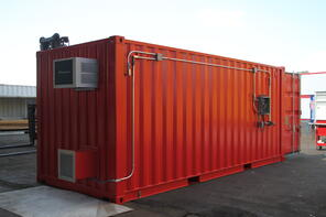 shipping container modification, DropBox Inc, hazardous chem storage, containerized chemical storage, portable chem storage, chemical storage, portable chemical storage, containerized hazardous chemical storage, portable hazmat chemical storage, hazmat chemical storage