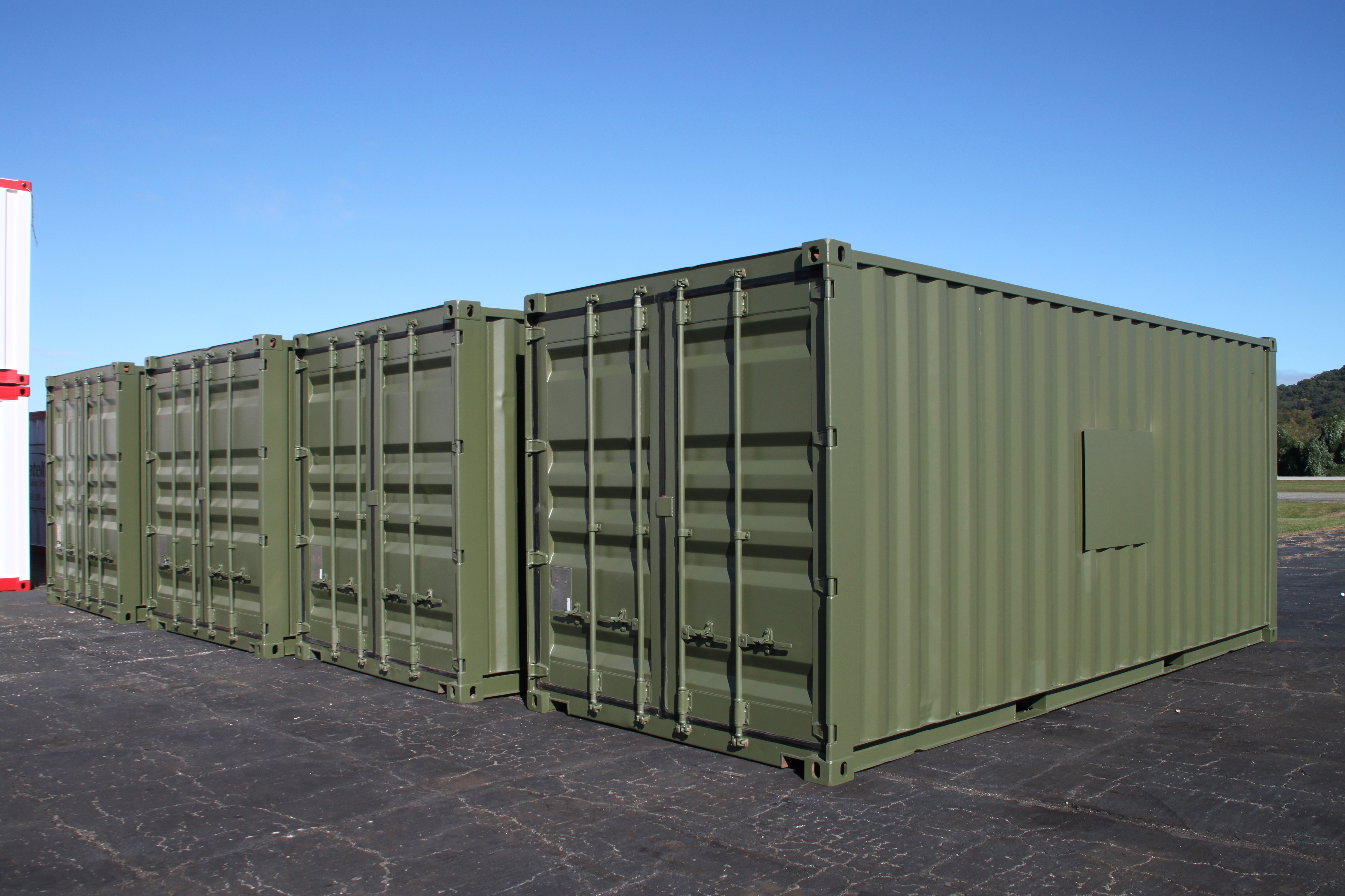 DropBox Inc, ISO Shipping container, shipping container modifications, Shipping container, ISO shipping container modification, IP-1 container, ReinventingTheBox