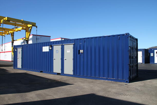 shipping container modification, ISO Shipping container modifications, DropBox Inc, conex container modification, custom shipping container modification, connex container modification, custom container modification, ISO shipping container modification