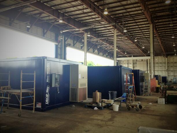 ISO Shipping container modifications, DropBox Inc, ISO Shipping container, Shipping container, custom shipping container modification, custom ISO shipping container modification, ISO shipping container modification