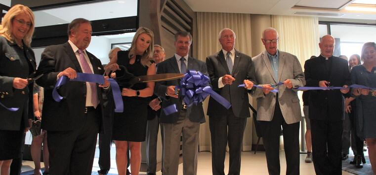 DropBox Inc, Robert Slagel, ribbon cutting, Delta Hotels by Marriott, Ashland, Kentucky
