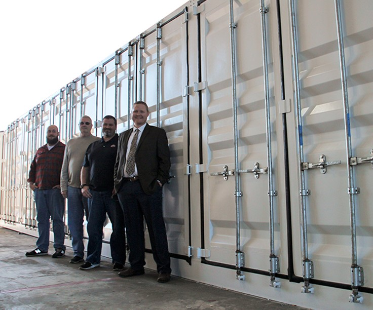 design shipping container modification, engineering shipping container modification, shipping container modification design, shipping container modification engineering, DropBox Inc