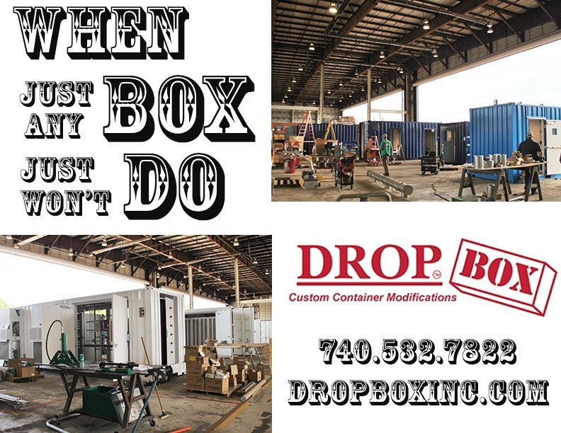 ISO Shipping container modifications, DropBox Inc, shipping container modifications, custom shipping container modification, connex container modification, storage container modification, storage container modifications