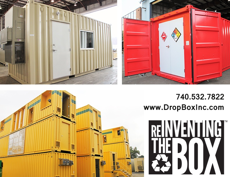 shipping container modification, DropBox Inc, ISO shipping container modification, DropBox Inc Pricing, shipping container modification price