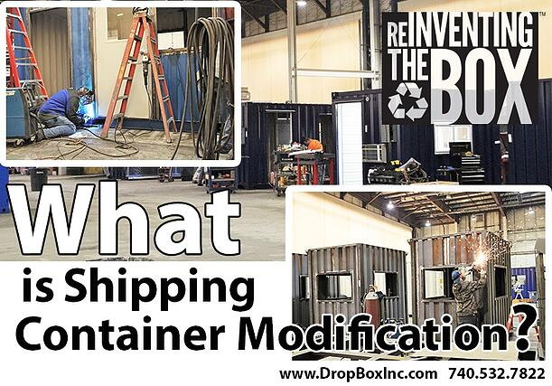 shipping container modification, ISO Shipping container modifications, DropBox Inc, shipping container modifications, shipping container modification company