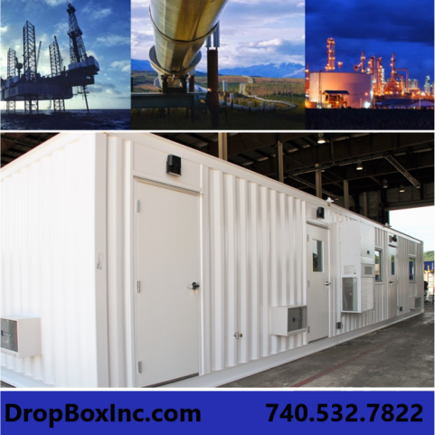 DropBox Inc, shipping container modifications, modular chemical lab, modular chemical labs, modular chemical laboratory, liquid natural gas, lng, ReinventingTheBox, container mods