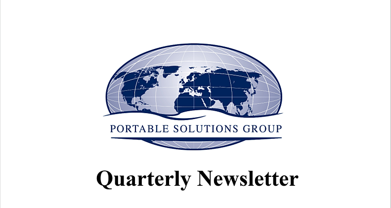 DropBox Inc, MSSI, Portable Solutions Group, PSG Quarterly Newsletter
