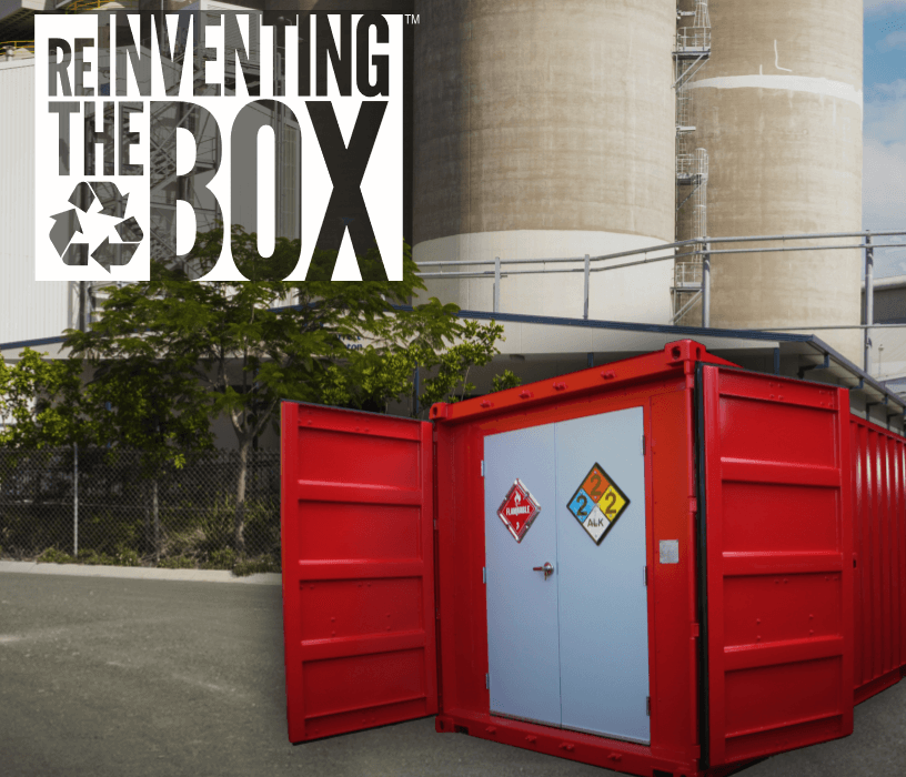 DropBox Inc, hazardous chem storage, containerized hazardous chemical storage, hazmat storage, portable hazmat storage, portable hazmat chemical storage, hazmat chemical storage, ReinventingTheBox