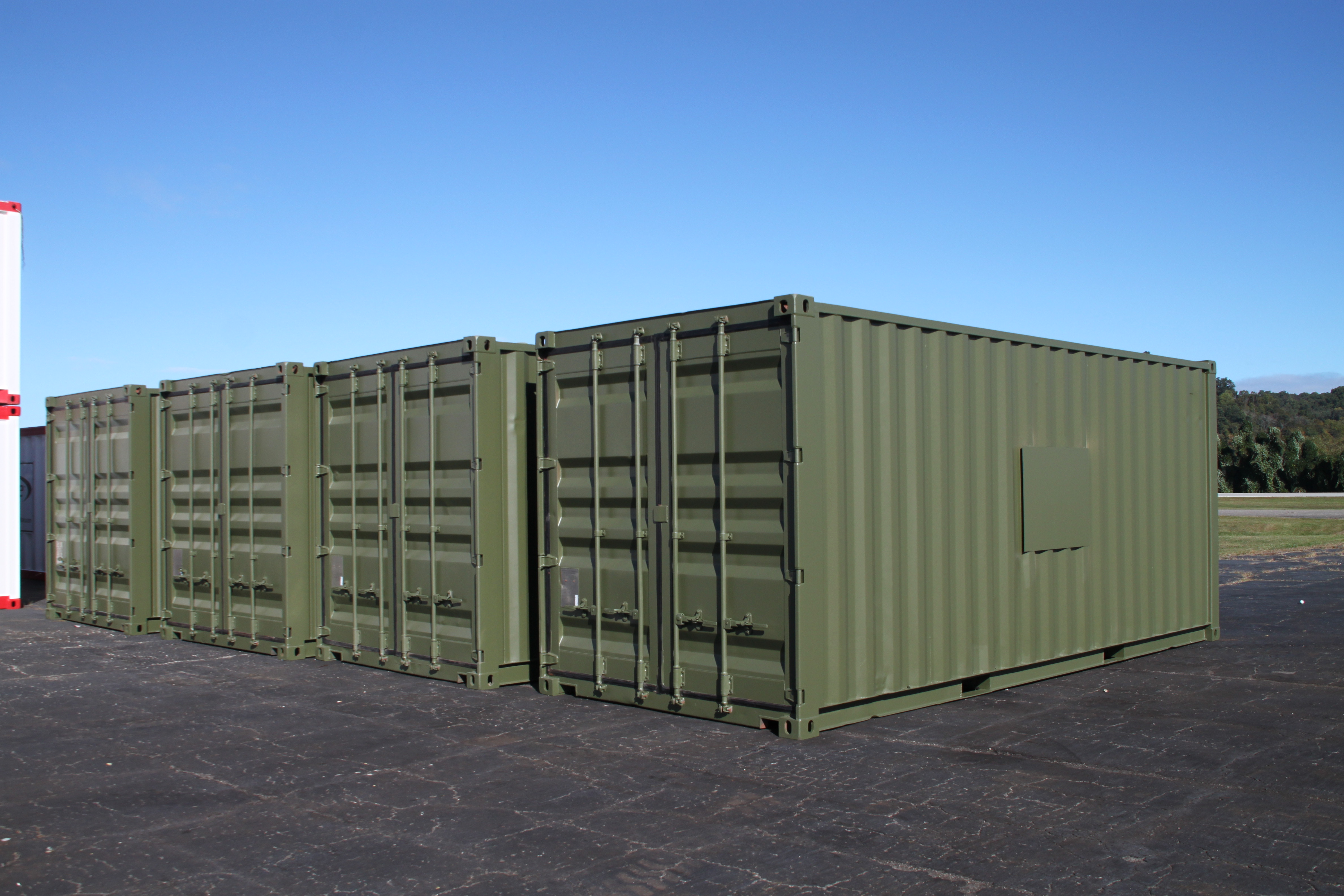 DropBox Inc., IP-1 Container, IP-1, IP1, nuclear storage, shipping container modifications