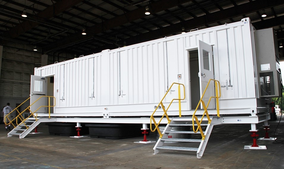 shipping container modification, DropBox Inc, shipping container modifications, conex container modification, connex container modification, storage container modification